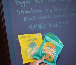 Just checking off another Wish List item💛💚 Introducing our #NEW @smartsweets Candy🍬  Amazingly sweet, with less of the sugar 🥳